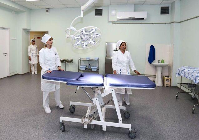 مستشفى عسكري روسي