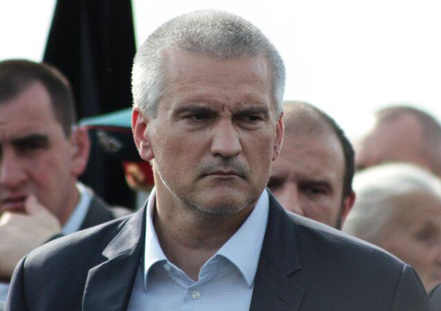 سيرغي أكسينوف رئيس جمهورية القرم
