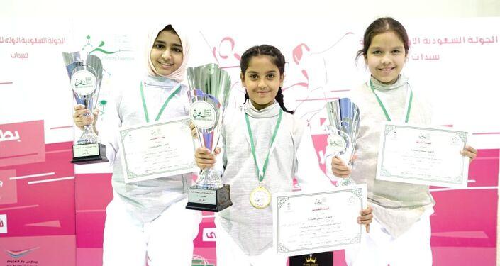 منتخب نسائي سعودي للمبارزة يشارك دولياً