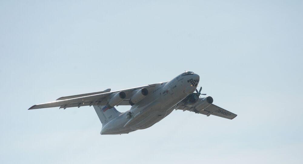 إحدى طائرات إيليوشين