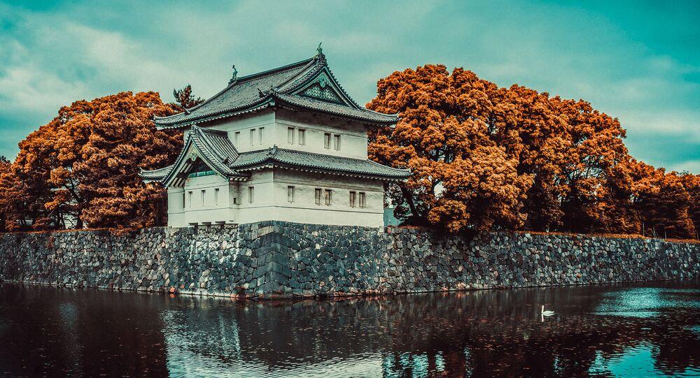 القصر الامبراطوري في طوكيو، اليابان