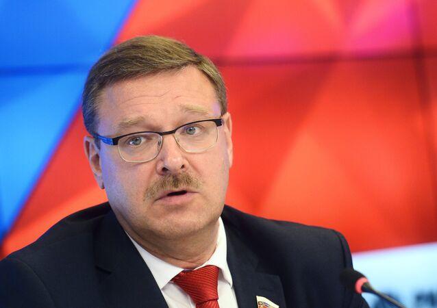 رئيس لجنة الشؤون الدولية في مجلس الاتحاد الروسي قسطنطين كوساتشيوف