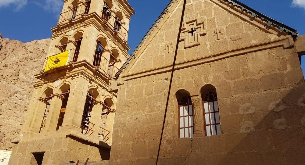 كنيسة التجلي بدير سانت كاترين