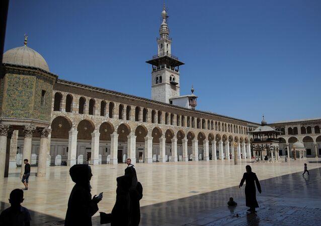 المسجد الأموي في دمشق، سوريا 14 سبتمبر/ أيلول 2018