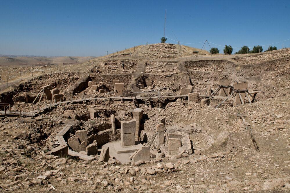 غوبيكلي تيبي، وهو مجمع جبلي مقدس من العصر الحجري، تركيا