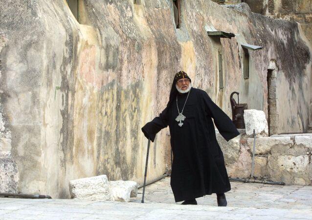 الكنيسة القبطية في القدس