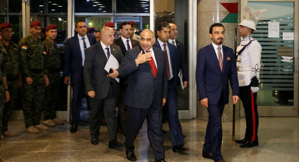 رئيس وزراء العراق المكلف عادل عبد المهدي