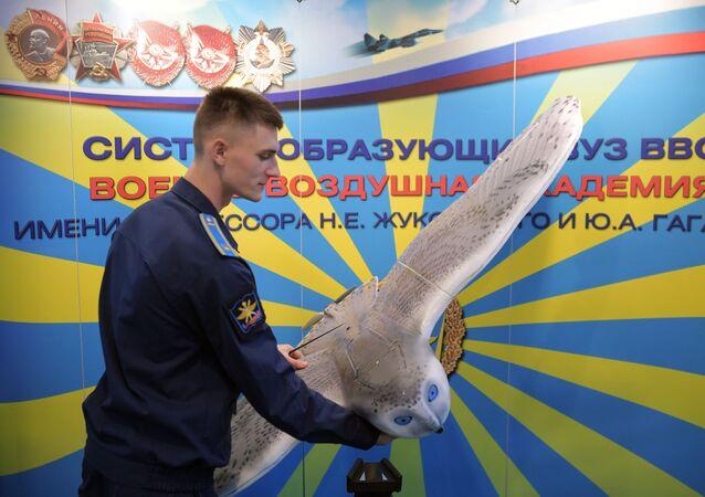 بومة حربية  في معرض إنتربوليتك-2018