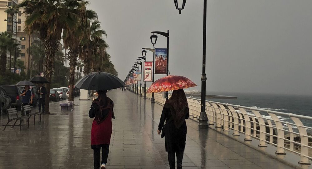 أمطار بيروت