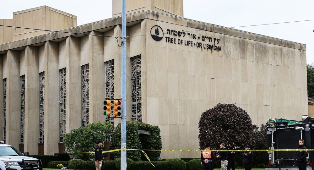 المعبد اليهودي في مدينة بيتسبرغ الأمريكية الذي تعرض لهجوم مسلح