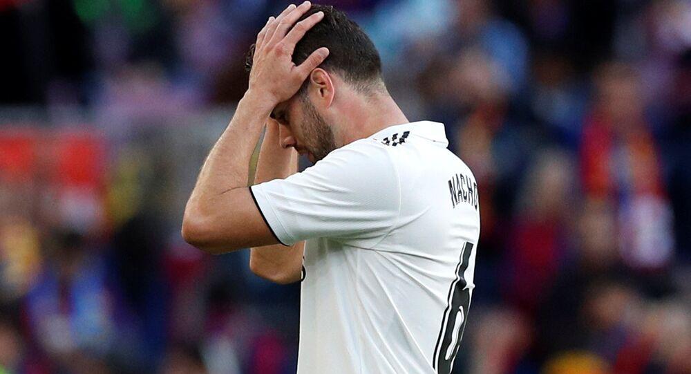 خشارة فريق نادي كرة القدم الإسباني ريال مدريد أمام نظيره برشلونة (1-5)، 28 أكتوبر/ تشرين الأول 2018