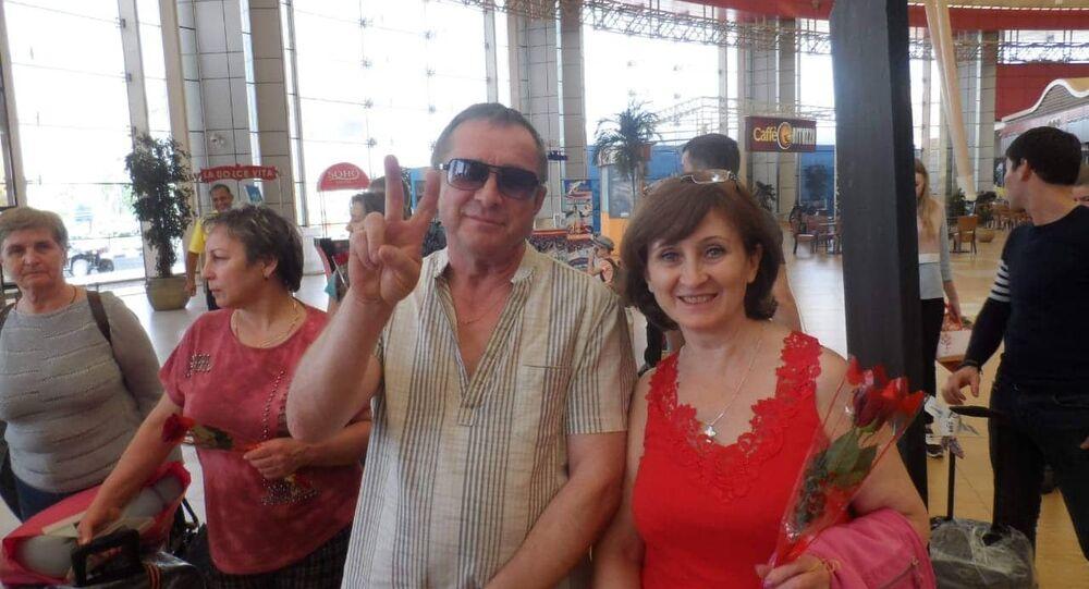 سياح روس في مطار شرم الشيخ، 29 أكتوبر/تشرين الأول 2018
