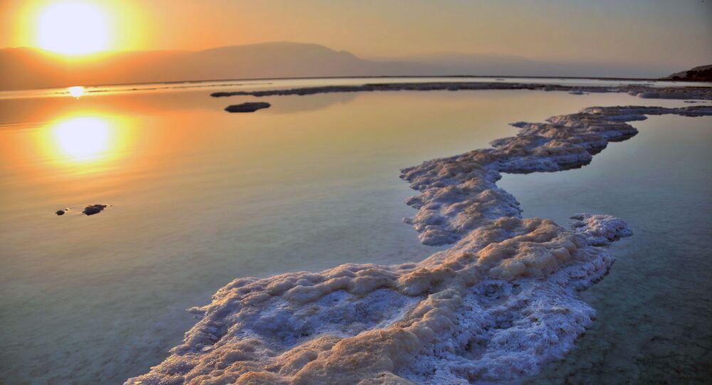 البحر الميت، الأردن