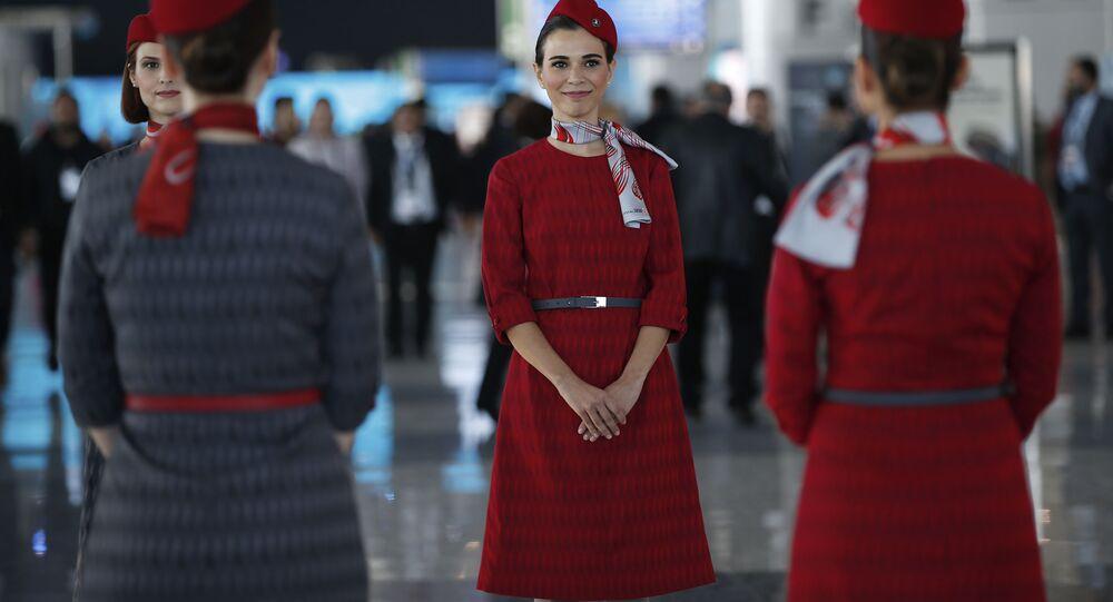 افتتاح المطار الجديد والأكبر في العالم في اسطنبول، تركيا 29 أكتوبر/ تشرين الأول 2018