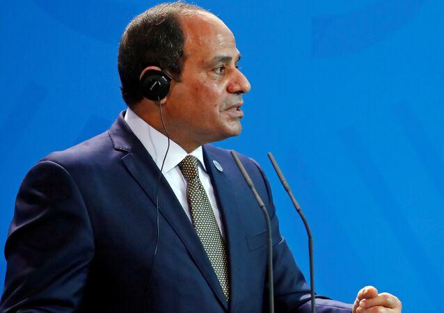 الرئيس المصري عبدالفتاح السيسي في برلين، ألمانيا 30 أكتوبر/ تشرين الأول 2018