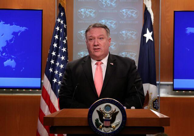 وزير الخارجية الأمريكي، مايك بومبيو