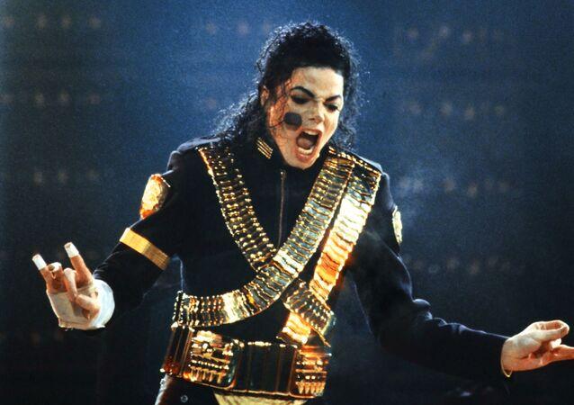 المغني الأمريكي مايكل جاكسون، 1993