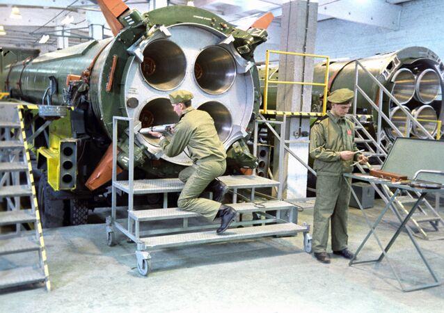 تصفية الصواريخ تعني R-12 وفقا لمعاهدة القضاء على الصواريخ متوسطة المدى وقصيرة المدى بين الاتحاد السوفياتي والولايات المتحدة الأمريكية، 1987