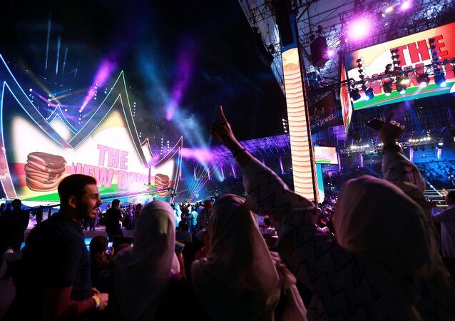 مهرجان كراون جول في الرياض، 2 نوفمبر/تشرين الثاني 2018