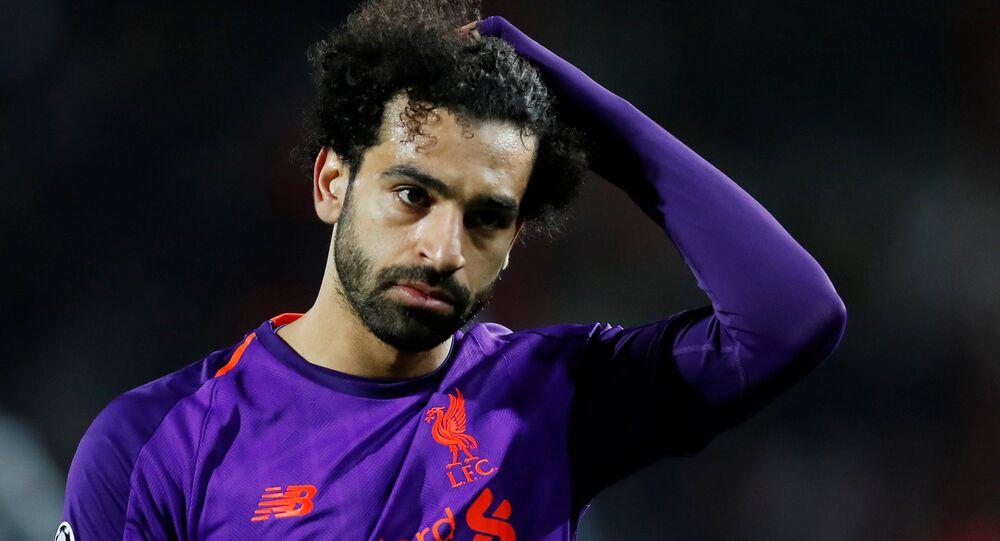 محمد صلاح في مباراة ليفربول مع النجم الأحمر رد ستار