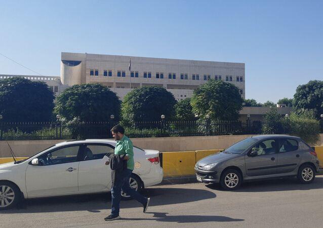 مبنى رئاسة الحكومة السورية في دمشق