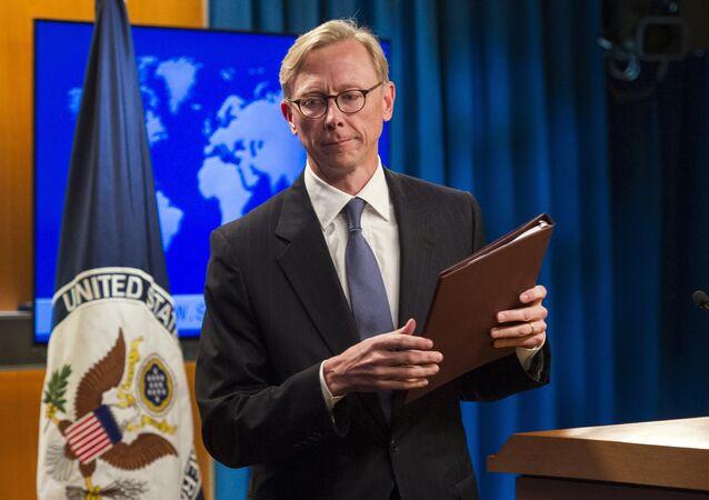 المبعوث الخاص للولايات المتحدة إلى إيران، براين هوك