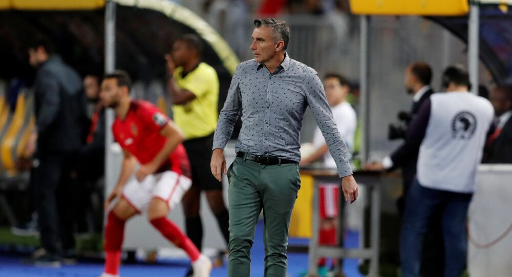 مدرب الأهلي باتريس كارتيرون في ذهاب نهائي دوري أبطال أفريقيا أمام الترجي التونسي