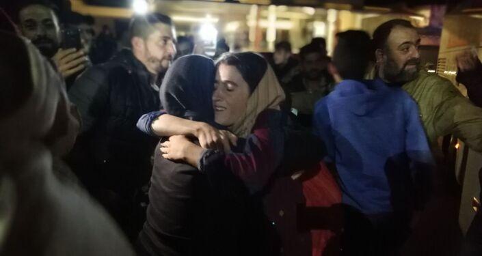 المختطفون الذين حررهم الجيش السوري من قبضة داعش