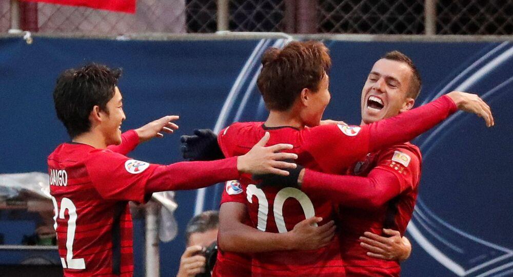مباراة كاشيما الياباني وبيرسبوليس الإيراني  في إياب نهائي آسيا