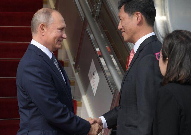 زيارة الرئيس فلاديمير بوتين إلى سنغافورة، 13 نوفمبر/ تشرين الأول 2018