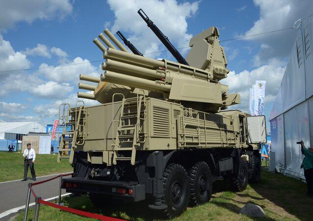 مجموعة بانتسير المدفعية الصاروخية المضادة للطائرات