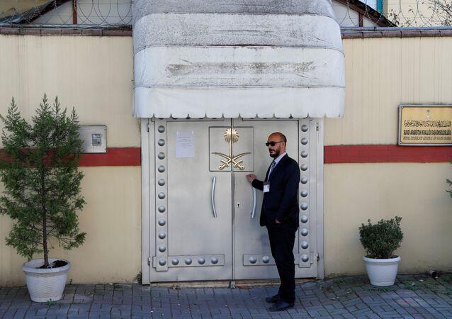 السفارة السعودية في اسطنبول، تركيا 15 نوفمبر/ تشرين الثاني 2018