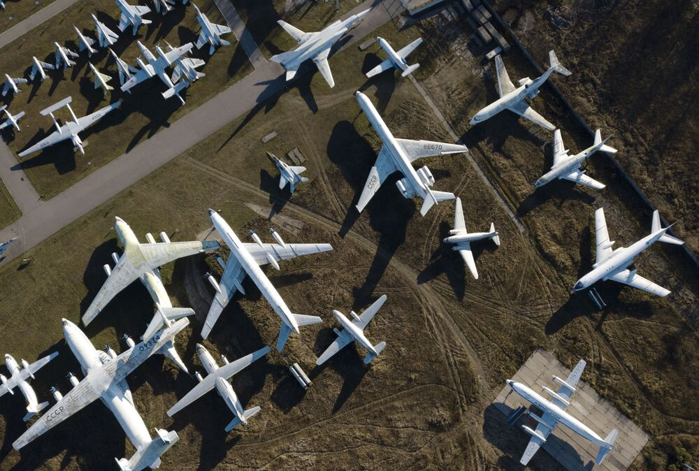 متحف مونينو للطائرات الروسية في منطقة موسكو