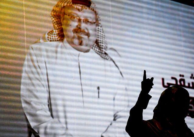 صور للصحفي السعودي جمال خاشقجي في اسطنبول، تركيا 11 نوفمبر/ تشرين الثاني 2018