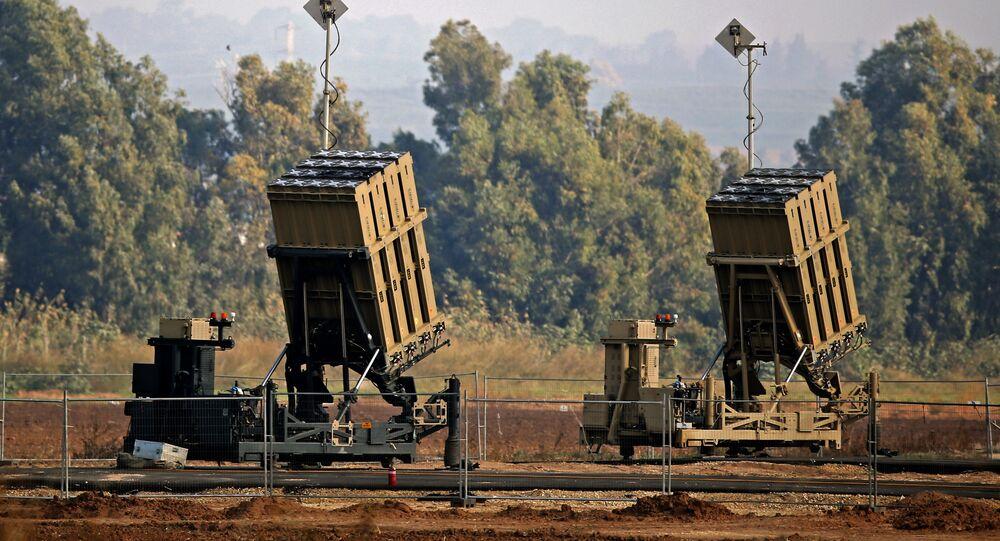 الجيش الإسرائيلي - نشر القبة الحديدية بالقرب من سديروت جنوب إسرائيل، 12 نوفمبر/ تشرين الثاني 2018
