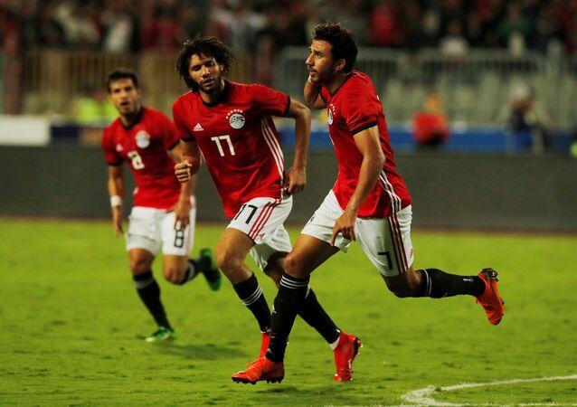 تريزيجيه يتعادل لمنتخب مصر مع المنتخب التونسي