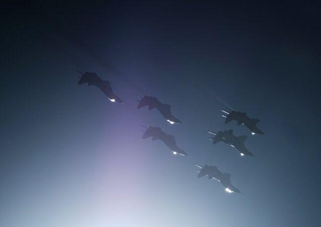 طائرات تابعة للقوات الجوية-الفضائية الروسية