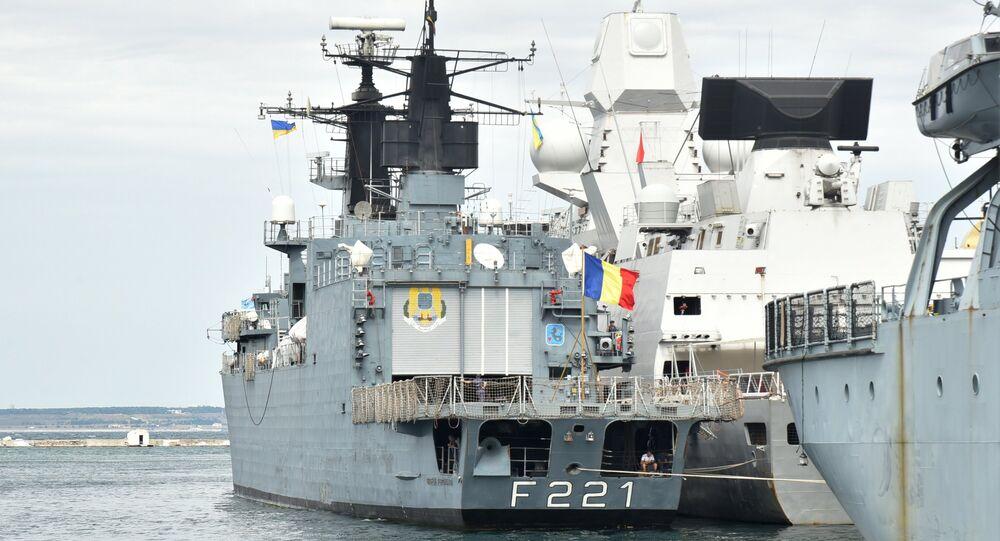 سفن الناتو تدخل ميناء اوديسا