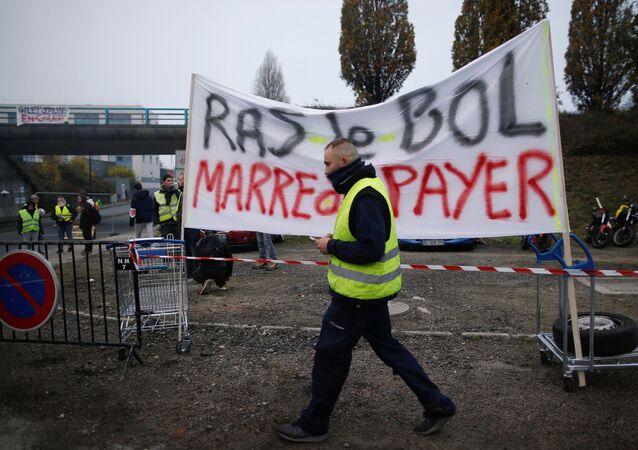احتجاجات السترات الصفراء في فرنسا