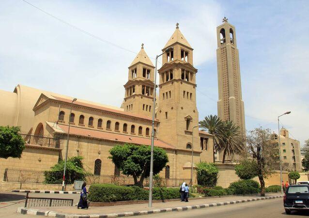 الكاتدرائية المرقسية وسط القاهرة