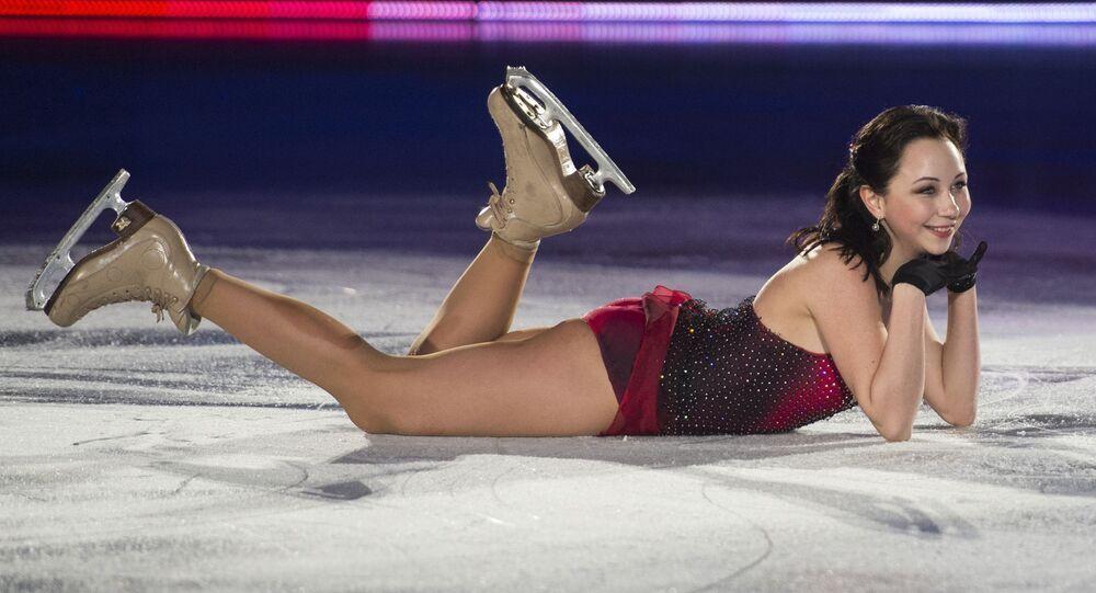لاعبة التزلج الروسية إليزافيتا توكتاميشيفا