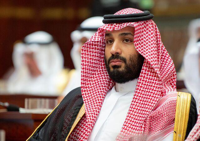 ولي العهد السعودي الأمير محمد بن سلمان يحضر جلسة لمجلس الشورى في الرياض