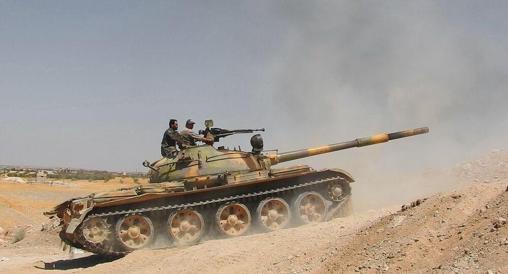الجيش السوري يحبط هجوما عنيفا شنّه أجناد القوقاز من منزوعة السلاح