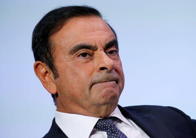 كارلوس غصن، رئيس تحالف رينو ونيسان وميتسوبيشي