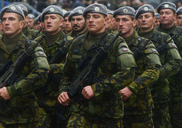 مشروع الجيش الأوروبي - جيش أوروبي - قوات الجيش التشيكي