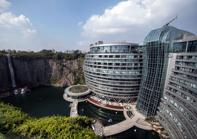 فندق Intercontinental Shanghai Wonderland في شنغهاي، الصين