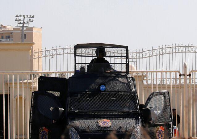 الجيش المصري - القوات المصرية - شرطة مكافحة الشغب، 2018