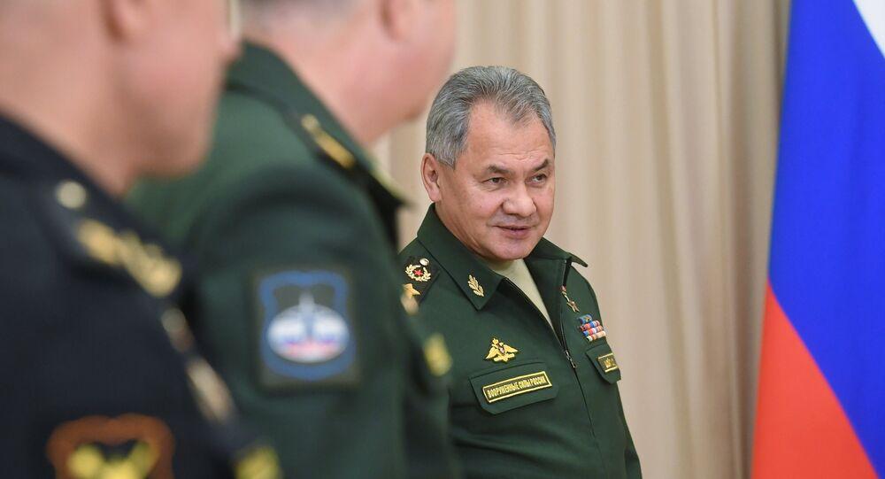 وزير الدفاع الروسي سيرغي شويغو، 19 نوفمبر/ تشرين الثاني 2018