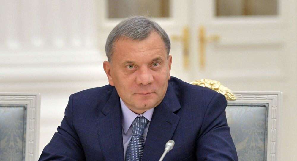 نائب رئيس الوزراء الروسي يوري بوريسوف