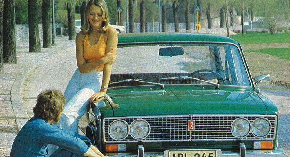 دعاية السيارة السوفيتية لادا 1500